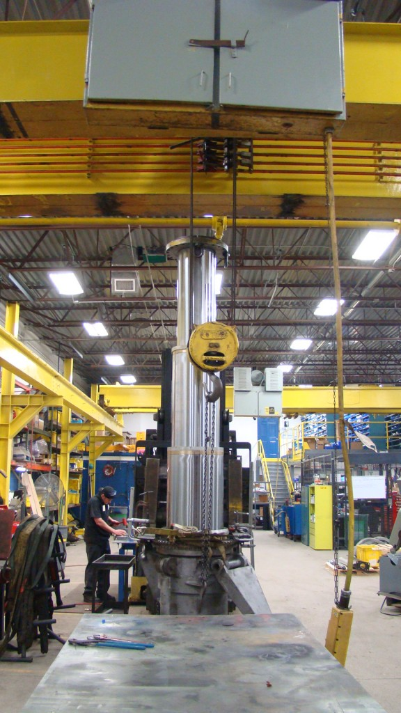 Testing F1 Rocket Cylinder @ SCS, Inc.