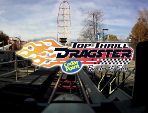 Cedar Point's Top Thrill Dragster relies on the power density of hydraulics